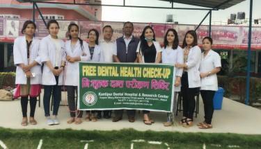 oral health camp